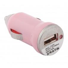 АЗУ LP с USB выходом 1А розовый
