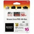 Флеш карта Memory Stick Pro Duo Sony 16Gb <MS-HX16A/B> original Sony Pro-HG Duo