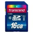 Флеш карта SDHC 16GB Transcend Class 10 TS16GSDU1