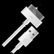 Кабель USB 2.0 Am - Apple 30 pin 1м LP SM000100