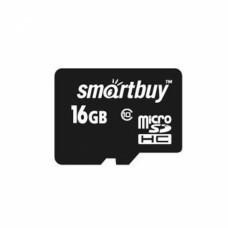 Флеш карта Micro SD 8Gb Smart Buy Class 10 без адаптера SB8GBSDCL10-00