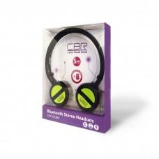 Гарнитура Bluetooth CBR CHP-633 Green, Bt v.2.1, регул. оголовье, кл. упр. треками, софттач, Bluetoo