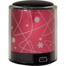Акустическая система DIVOOM Upo-Bud, розовая, 2,4Вт, система PO Bass, 100Гц-20кГц, 44х45х58мм