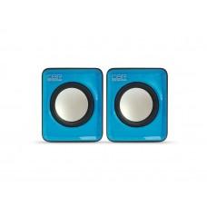 Акустическая система 2.0 CBR CMS 90, Blue, динамики 4,5 см., USB, CMS 90 Blue
