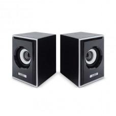 Акустическая система 2.0 CBR CMS-408, Black-Silver, 3.0 W*2, USB, CMS 408