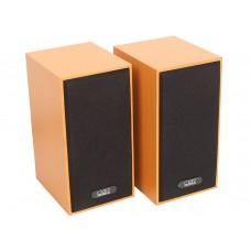 Акустическая система 2.0 CBR CMS-635, Wooden, 3.0 W*2, USB, CMS 635