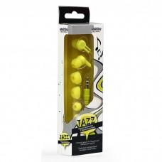 Внутриканальные наушники Smartbuy JAZZ, желтые, 3 пары силиконовых вставок (SBE-760)