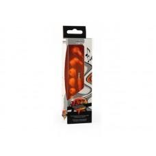 Внутриканальные наушники Smartbuy JAZZ, оранжевые, 3 пары силиконовых вставок (SBE-730)