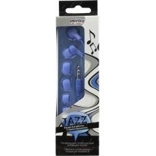 Внутриканальные наушники Smartbuy JAZZ, синие, 3 пары силиконовых вставок (SBE-770)