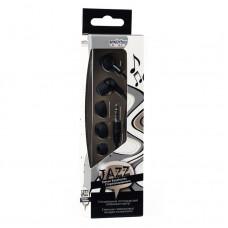 Внутриканальные наушники Smartbuy JAZZ, черные, 3 пары силиконовых вставок (SBE-700)