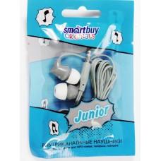 Внутриканальные наушники Smartbuy JUNIOR, серые (SBE-500)