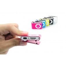 MP3 плеер mini (разъем для флешки MicroSD) на прищепке