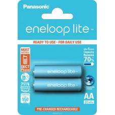 Акк. батарейка Panasonic AAA-550mAh 1.2V Ni-Mh 2шт