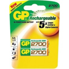 Аккумулятор GP R06 (2700ААНС) BL*2