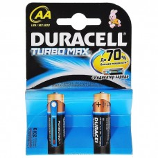 Батарейка Duracell AA LR6 1.5V TURBO MAX