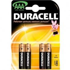 Батарейка Duracell AAA LR03 1.5V BL4