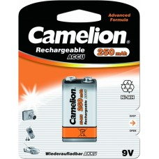 Акк. батарейка Camelion 9V - 250mAh Ni-Mh BL-1
