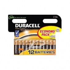 Батарейка Duracell AAA LR03 1.5V BL12