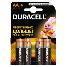 Батарейка Duracell AA LR6 1.5V BL4