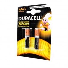 Батарейка Duracell AAA LR03 1.5V BL2