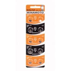 Батарейка MINAMOTO AG01 (LR621)