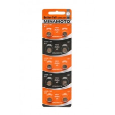 Батарейка MINAMOTO AG02 (LR726