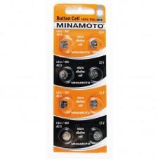 Батарейка MINAMOTO AG03 (LR41 / 392)