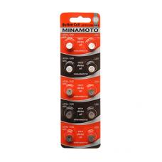 Батарейка MINAMOTO AG05 (LR754)