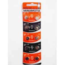 Батарейка MINAMOTO AG07 (LR927 / 395)