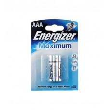 Батарейка Energizer AAA BL2 1.5V Maximum