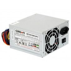 Блок питания ATX 400W CROWN CM-PS400W   (20+4in, 80mm FAN, SATA*2, PATA(big Molex)*4, FDD*1, 4+4pin,