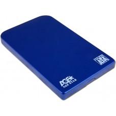 Внешний корпус AgeStar SUB2O1 (BLUE), алюминий, синий