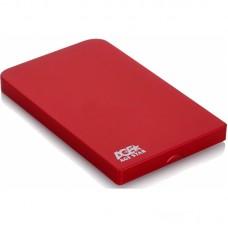 Внешний корпус AgeStar SUB2O1 (RED), алюминий, красный