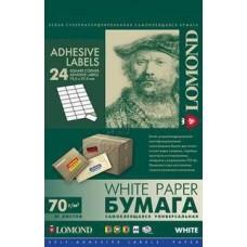 Lomond наклейка А4/24 делений/50л (64*33,4)