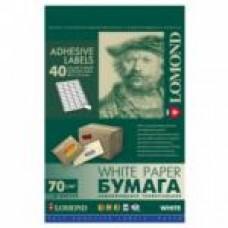 Lomond наклейка А4/40 делений/50л