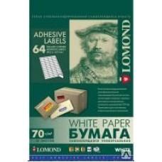 Lomond наклейка А4/64 делений/50л