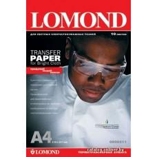Lomond термотрансф. белая ткань А4/1л