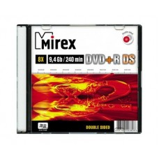 DVD+R Mirex 9,4 Gb\8x Double Side 1cd Slim
