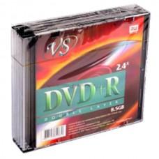 DVD+R VS 8.5 Gb\8x Double Layer PRINT slim
