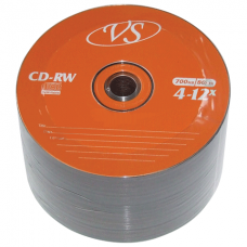 CD-RW VS 700Mb 4-12x