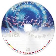 """CD-R Mirex 700Mb 52x """"С Новым годом"""" Cb-25"""