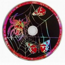 CD-R 700 52x Oxion Slim 1 cd Паук Black