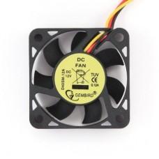 Вентилятор Gembird 40x40x10, шнур 25см, 3pin [D40SM-12A-25]