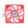 Вентилятор для корпуса DEEPCOOL 120x120 [XFAN 120U L/R] (1300 об/мин, красная подсветка, 26дБ)