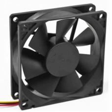 Вентилятор для корпуса 80x80x25mm, широкий разъем 4pin [8025K/FANCASE-4]