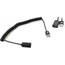 Кабель USB 2.0  удлинитель 2.0m витой Premium  Greenconnect  GC-UEC2M3-2m, AM[штекер]/AF[гнездо], 28