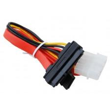 Кабель SATA  интерфейсный (35см) и силовой (13.5см) CC-SATA-C1