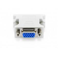 Адаптер (переходник) VGA розетка / DVI-I вилка (DVI 24+5 male на VGA 15 HD) VCOM