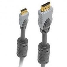 Кабель HDMI, mini HDMI (type C) вилка- mini HDMI (type C) вилка с ф/фильтрами, длина 2 м.