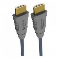 Кабель HDMI, HDMI вилка - HDMI вилка 10 м. gold plated, 2 ferrites (copper)
